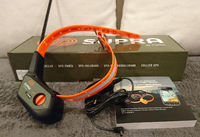 Tracker Supra paketin sisältö