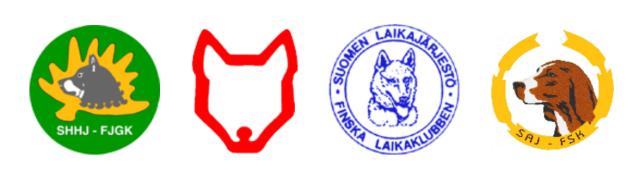 koiratietokannassa olevat rotujärjestöt 17082018